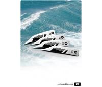 Плавники для кайтборда CoreG10 Wake Fin 28 мм