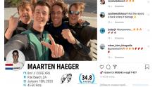 Маартен Хегер - прыгнул на 34,8 метров на кайте Core XR6 - мировой рекорд 2020!